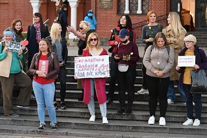 МВД Белоруссии сравнило число участников протестных и провластных митингов
