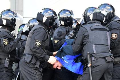 Названо число задержанных вМинске участников протестов