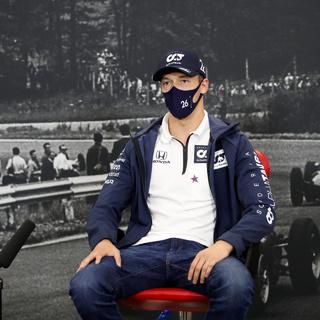 Квят получил предупреждение за аварию на Гран-при Тосканы
