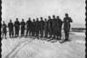 Немецкие солдаты на лыжах. Украина, 1941 год.