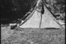 Немецкий солдат в палатке. Украина, июль 1941 года.