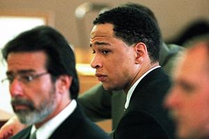 Рэй Кэррут в зале суда