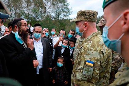 Более тысячи паломников-евреев попытались прорваться на Украину из Белоруссии