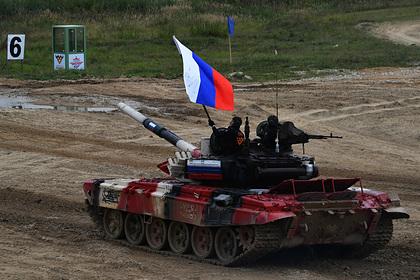 Раскрыто число танков у России