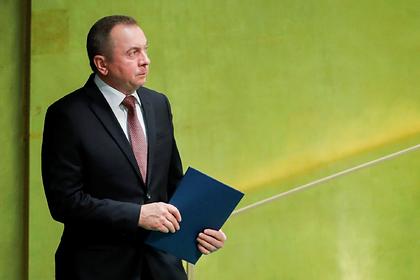 Глава МИД Белоруссии назвал прошедшие президентские выборы неидеальными