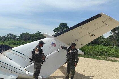 ВВенесуэле военные сбили самолёт США