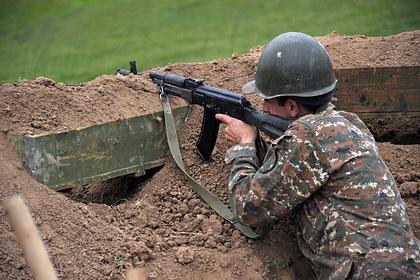 Армения обвинила Азербайджан вубийстве военнослужащего награнице