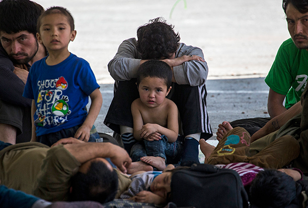 Уйгуры во временном убежище на границе Таиланда и Малайзии