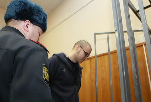Во время оглашения приговора, 2009 год
