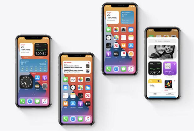 В iOS 14 изменили домашний экран и добавили виджеты