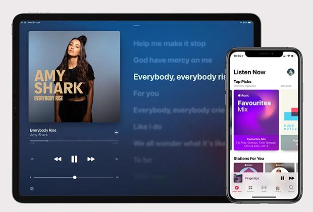 В iPadOS 14 переботали некоторые приложения, включая «Музыку»