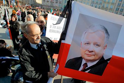 Польша назвала имена связанных с гибелью Качиньского российских диспетчеров