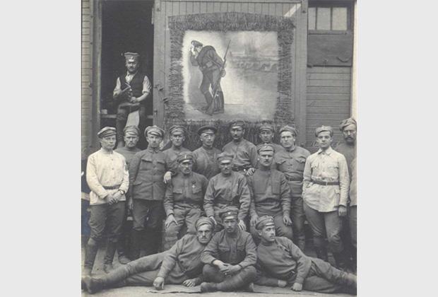 Чехословацкие легионеры, 1918 год