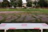Еще одним популярным и простым способом выразить свою гражданскую позицию в Белоруссии стало перекрашивание малых архитектурных форм в красно-белые цвета. В основном, конечно, активисты украшают лавочки. Обычно такая раскраска долго не держится — в течение дня появляются коммунальщики, уничтожающие протестную символику под новыми слоями краски.