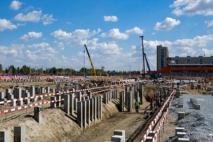 В Омске началась активная фаза строительства хоккейной «Арены Омск»