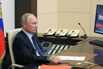 Путин оценил вклад российской промышленности в нацпроекты