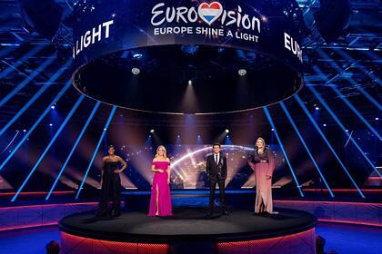 Представлены четыре сценария проведения «Евровидения»