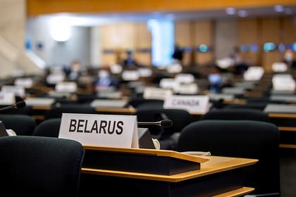 Предложения России по ситуации в Белоруссии отклонили в ООН