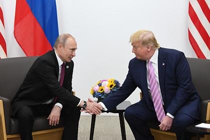 Трамп рассказал о критике за «дружбу» с Путиным