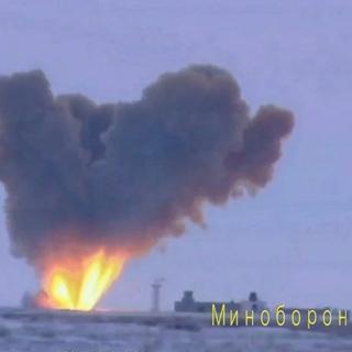 Запуск ракеты комплекса «Авангард» из позиционного района Домбаровский в Оренбургской области