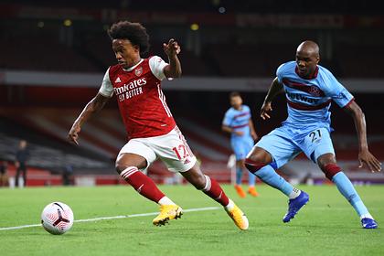 «Арсенал» вырвал победу у «Вест Хэма» в лондонском дерби