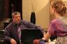 Помимо театральной и телевизионной деятельности Михаил Борисов снимался в кино. На фото — кадр из сериала «Обручальное кольцо» 2008 года. Эта теленовелла — один из самых продолжительных российских сериалов (более 800 серий) и второй отечественный телесериал, по которому сняли зарубежную адаптацию.