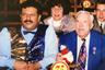 На телевидение Борисов попал задолго до «Русского лото». По его собственным словам, на ТВ он с 11 лет: маленький Миша участвовал в работе молодежной редакции Центрального телевидения СССР.  <br> <br> «Русское лото» придумал друг Борисова, Артем Тарасов — первый советский миллионер. Но воплотить задумку не получалось, и Тарасов позвал на помощь своего друга. В итоге Борисов стал столпом программы и ее художественным руководителем.