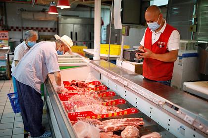 Китай оказался на пороге мясного кризиса