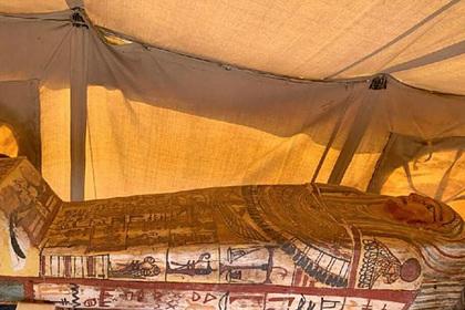 В Египте нашли новую затерянную могилу возрастом 2500 лет
