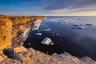 Климат моря Лаптевых — один из самых суровых среди арктических морей. Морской лед покрывает акваторию почти круглый год. Западная часть моря Лаптевых — уникальный район, практически не затронутый человеческой деятельностью. Здесь гнездятся толстоклювая кайра и моевка, обитают белухи и нуждающиеся в особой охране лаптевские моржи. Экосистема высоких широт исключительно чувствительна к изменениям климата.