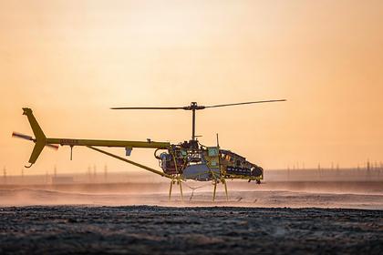 «Газпром нефть» успешно испытала тяжелый беспилотный вертолет в Арктике
