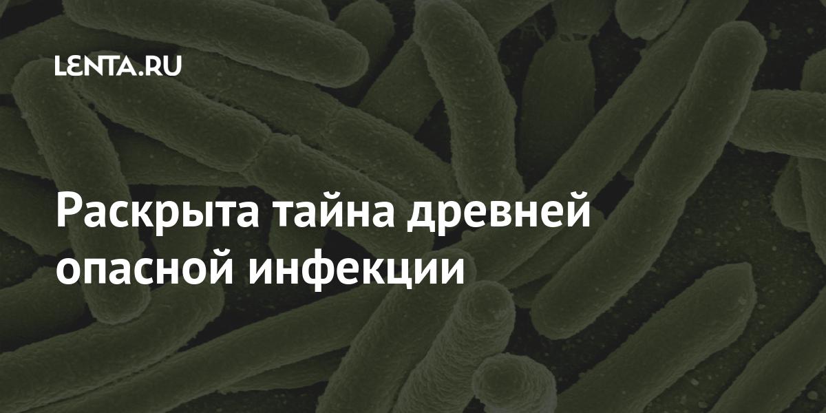 Раскрыта тайна древней опасной инфекции