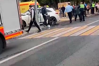 Появились подробности наезда певца за рулем Infiniti на людей в центре Москвы