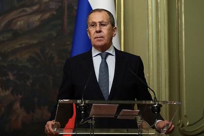 Лавров назвал незаконными санкции США против Ирана