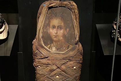 Ученые восстановили лицо древнеегипетского мальчика по его портрету