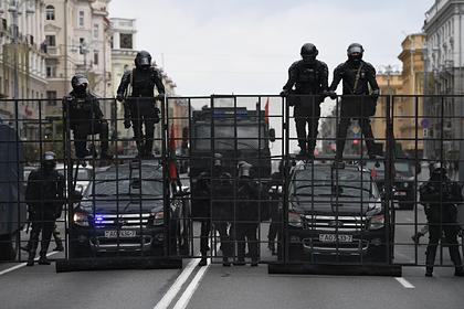В МВД Белоруссии рассказали об укреплении боевого духа