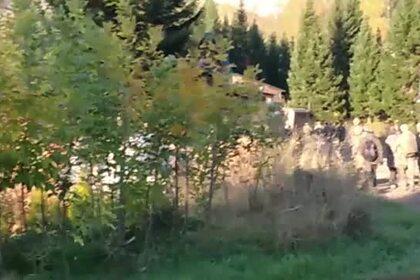 Автоматчики ФСБ увезли главу «Церкви последнего завета» Виссариона на вертолете