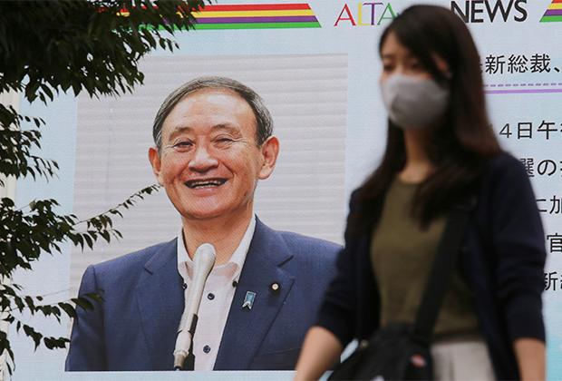 Портрет Ёсихидэ Суги