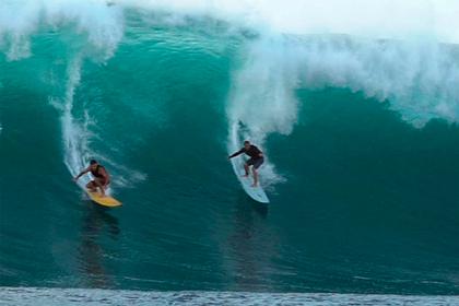 Доска для серфинга исчезла в волнах и нашлась спустя два года в другом полушарии