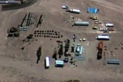 На картах Google нашли «гигантских роботов» на засекреченной военной базе