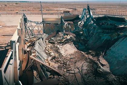 В Казахстане обрушился недостроенный спорткомплекс