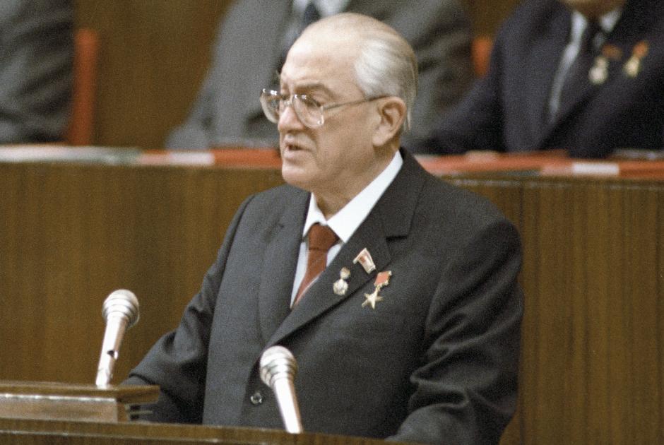 Глава КГБ СССР Юрий Андропов