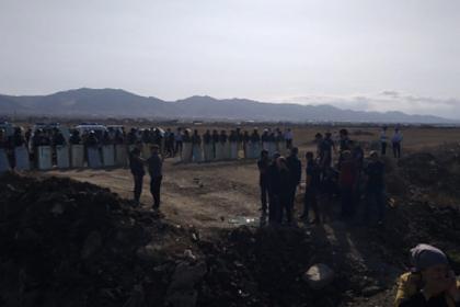 ОМОН разогнал протестующих против стройки жителей российского села