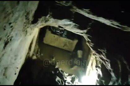 Появилось видео вырытого вроссийской колонии подземного тоннеля