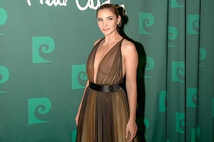 Венецианскую принцессу обругали за выход в свет в просвечивающем грудь платье