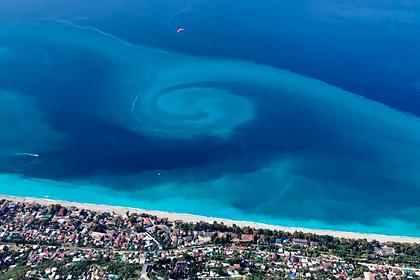 Редкое природное явление у берегов Абхазии попало на камеру