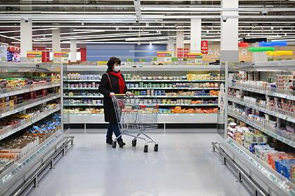 Россия значительно опередила Европу по росту цен на продукты
