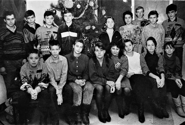 Ученики восьмого класса школы №25 Ростова-на-Дону, ставшие заложниками террористов