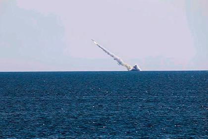 Стрельбы «Калибром» в Черном море показали на видео
