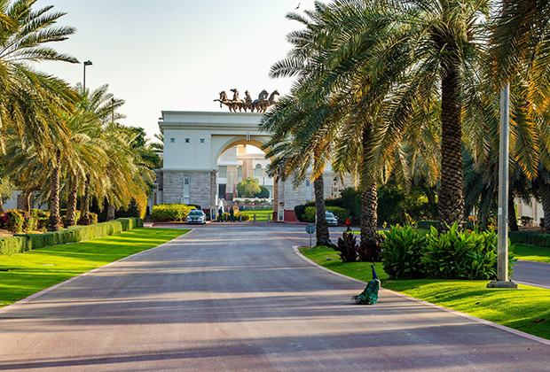Дворец Zabeel Palace — место проживания королевской семьи ОАЭ в Дубае